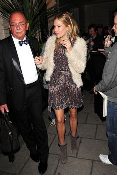 Sienna Miller - Sienna Miller Out and About