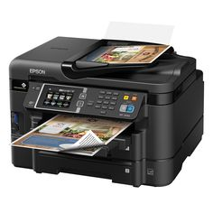 Get Performance Beyond Laser with the WorkForce WF-3620, powered by PrecisionCore. Save time - Professional-quality prints with speeds of 19 ISO ppm (black) and 10 ISO ppm (color). Save up to 40 percent lower printing cost vs. a color laser. Print anywhere, anytime - from iPad, iPhone, tablets and smartphones; includes wireless and Wi-Fi Direct. Do more - auto 2-sided print, copy, scan and fax; plus 35-page Auto Document Feeder. Please allow 2 weeks for shipping.