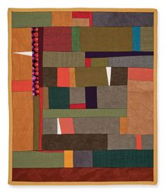 Working in a Series: Gwen Marston and 37 Sketches--love that one strip of Kaffe fabric amongst the solids Strip Quilts, Scrappy Quilts, Mini Quilts, Gees Bend Quilts, Fiber Art Quilts, Textiles, Contemporary Quilts, Small Quilts, Fabric Art