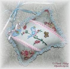 Crazy Quilting and Embroidery Blog by Pamela Kellogg of Kitty and Me Designs: Back To Normal....Almost