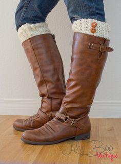 BOOT CUFFS crochet boot toppers