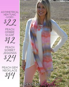 Love the look, find it all online at Facebook.com/dressmetrendyboutique