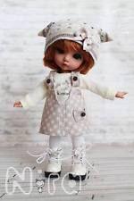 Lati yellow bjd fairyland pukifee: seulement l'outfit (no doll!)