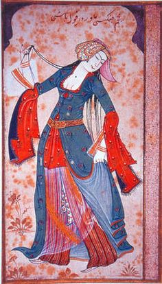 Image detail for -15th century Turkish Women's Clothing