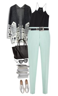 """Untitled #264"" by mmmp ❤ liked on Polyvore featuring Chicwish, H&M, Monki, Hobbs, Zara, Oliver Goldsmith and Forever 21"