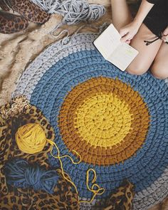 Autumn combination  in process  #susimiu #handmade #leopard #autumn #cute #retro #crochet #ganchillo #trapillo #deco #apartmenttherapy #instagram #instacrochet #instadeco #design #baby #kids by susimiu