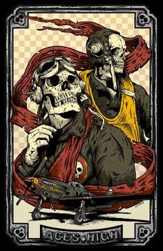 Iron Maiden Poster Art | Aces High « Pablo Lizardi