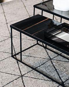 """WUNDERS JOHANNESBURG on Instagram: """"This stone coffee table sure looks great against our grey woollen rug.  #wundersjhb #livingwunders"""""""