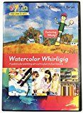 Learn Watercolor Painting in 4 Easy Lessons DVD   How To Paint with Watercolor   Watercolor Techniques DVD   Landscape Art   Watercolor Painting Lessons Video   Watercolor Art School DVD