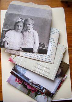 home made envelopes