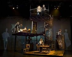 Image result for lizzie the musical set design