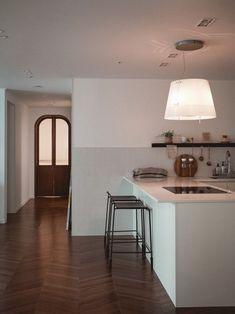 Corner Desk, Interior Ideas, Kitchen, Table, Furniture, Home Decor, Cuisine, Corner Table, Kitchens
