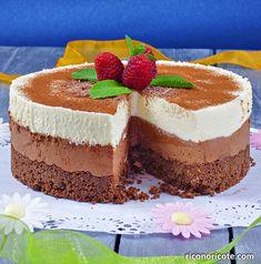 Tarta mousse doble chocolate. #tartas #reposteria #sinhorno #chocolate