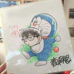 Detective Conan x Doremon