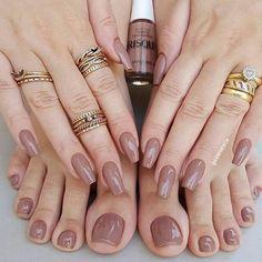 Installation of acrylic or gel nails - My Nails Nail Swag, Cute Nails, Pretty Nails, Nail Manicure, Nail Polish, Mani Pedi, Hair And Nails, My Nails, Nagellack Trends