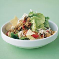 Turkey Taco Salad Recipe - Delish.com