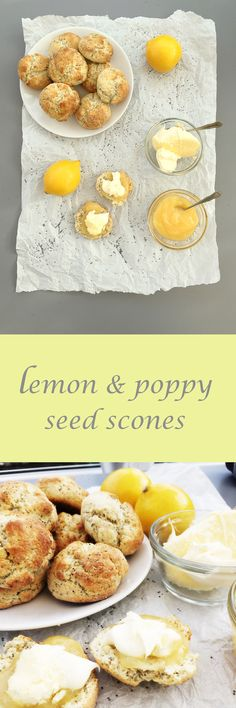 Lemon and poppy seed scones | A batch of these lemon scented scones ...