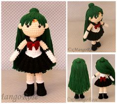 Sailor Pluto Amigurumi Doll by xMangoRose.deviantart.com on @DeviantArt ☆