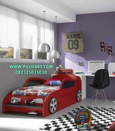 Ranjang Anak Model Mobil, Tempat Tidur Anak Model Mobil, Ranjang Mobil, Tempat Tidur Mobil