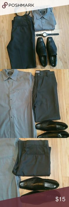 Dockers pants size 32 x 34 Dockers  100% polyester pants, straight fit, nwot Dockers Pants Chinos & Khakis