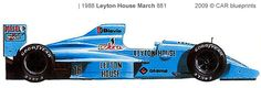 Leyton House March 881 F1 OW