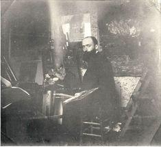 EDOUARD VUILLARD IN HIS STUDIO