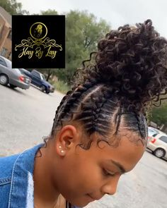elegant hairstyles hair videos hairstyles over 50 hairstyles for 12 year olds hairstyles in a ponytail hairstyles ideas yarn hairstyles braid hairstyles Girls Natural Hairstyles, Braided Ponytail Hairstyles, Easy Hairstyles For Medium Hair, Braided Hairstyles For Black Women, African Braids Hairstyles, Braids For Black Hair, My Hairstyle, Elegant Hairstyles, Braided Mohawk Black Hair