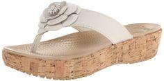 Crocs Womens Women's A-Leigh Floral Flip Flop,Stucco/Gold,8 M US Crocs http://www.amazon.com/dp/B00DY7PEE8/ref=cm_sw_r_pi_dp_keDJtb1ENEJSBGXT
