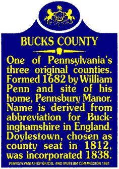 Beautiful and historic Bucks County, PA - where I grew up <3