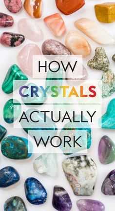 How Do They Work And Why Is Everyone Buying Into Them? Crystal experts reveal how to use them and which stones may be right for you.Crystal experts reveal how to use them and which stones may be right for you. Crystal Healing Chart, Crystal Guide, Crystal Magic, Healing Crystals, Cleanse Crystals, Healing Crystal Jewelry, Crystal Uses, Healing Rocks, Healing Gemstones