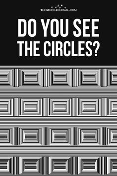 Most People Can't Find The Circles Hiding In This Image. -Personality Test - Most People Can't Find The Circles Hiding In This Image. – The Minds Journal - Brain Illusions, Optical Illusions Pictures, Funny Illusions, Illusion Pictures, Cool Optical Illusions, Funny Brain Teasers, Brain Teasers Riddles, Eye Tricks, Brain Tricks