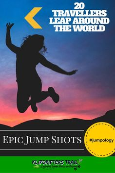 20 Travelers leap around the world with Epic Jump shots from their travels #jumpology