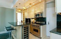 küchenlösungen für kleine küchen kücheninsel