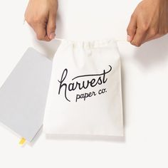 Lumi: awesome company for custom packaging... cloth or paper bags, stamps, etc, etc.