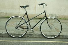 Ben's Raleigh mixte (Reynold 531) with Short Black Gropes by NONUSUAL, via Flickr