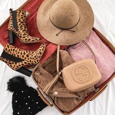Packing For A Fall Trip to Asheville - The Fancy Things