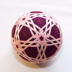 Temari ball by mfrid on Etsy, $25.00