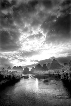 Yangshuo, Guilin, Guangxi, China... Guilin, Wonderland, Beautiful Places, China, Sun, River, Outdoor, Outdoors, Rivers
