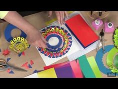 ▶ Concentric Kirigami - Lesson Plan - YouTube (4:51)