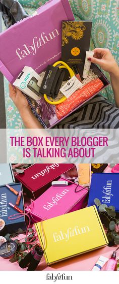 See what everyone's talking about and try a FabFitFun box today! From beauty…