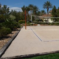 Ideal Home Garden Breaks Down How To Make Your Own Volleyball Court At Home.