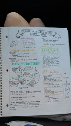 helenasstudyblr: Last unit of the year for English. First set of notes for…