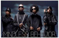 Mindless Behavior Boy Band Group Shot Music Poster 11x17