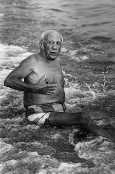 Picasso - photographie de Lucien Clergue (Dunway Enterprises) Picasso #portrait #face http://amzn.to/2afoOjz
