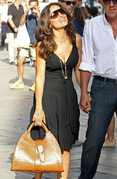 The Many Bags of Salma Hayek More