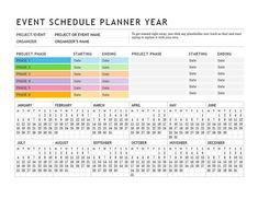 Event Planning Calendar Template - event Planning Calendar Template , Template Calendar event Planner 2019 Template for Free Event Planning Template, Event Planning Quotes, Event Planning Checklist, Wedding Planning Timeline, Event Planning Business, Wedding Event Planner, Planner Template, Timetable Template, Schedule Templates
