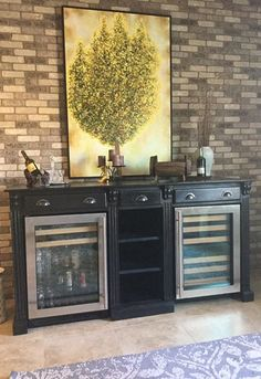 For when you want a wine or bar fridge that fits into your everyday living style