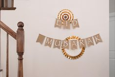 Our banner packs include paper fans, tassel, moon star garland, and upgrade to include our best-selling burlap banners. #daysofeid