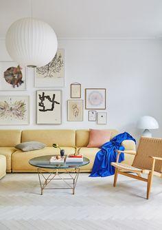 Her er de vigtigste indretningstrends for 2020 Living Room Interior, Home Living Room, Living Room Decor, Living Spaces, Living Room Inspiration, Interior Inspiration, Interior Minimalista, Piece A Vivre, Interior Decorating