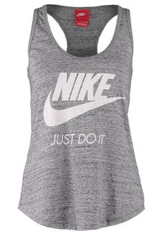 f3d71bf5255d8 Nike Sportswear GYM VINTAGE - Top - carbon heather - Zalando.de Nike Tank